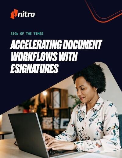 Accelerating Document Workflows with eSignatures